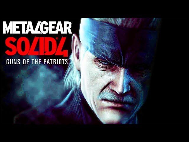 METAL GEAR SOLID 4 All Cutscenes (Game Movie) 1080p HD