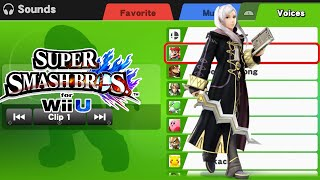 Robin (female) & Chrom Voice Clips - Super Smash Bros Wii U