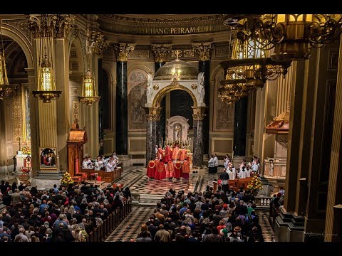10th Anniversary of Summorum Pontificum - Solemn Pontifical Mass at the Throne