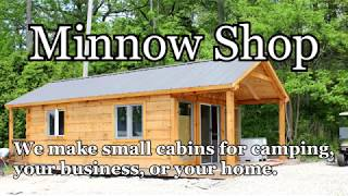 Small Log Cabins Delivered To Your Site - Perfect For Camping, Your Business Or Your Home!