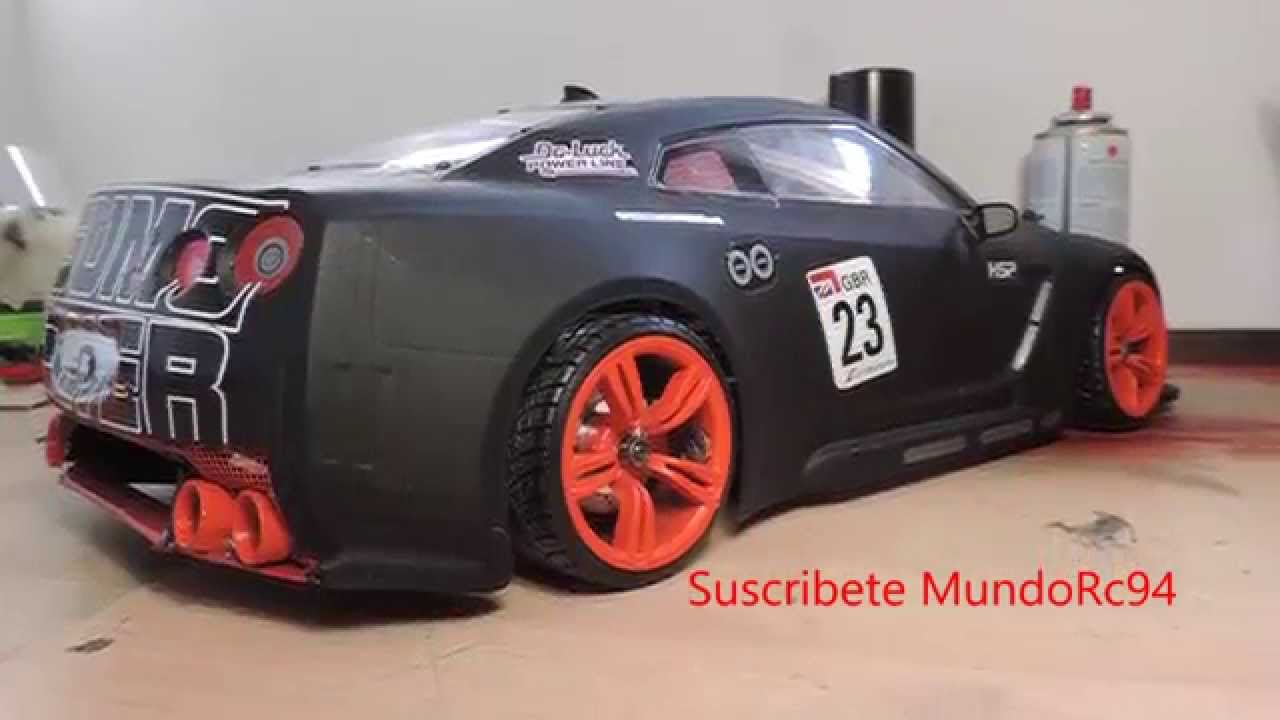 Rcmodify Nissan GTR R35 Sumo Power Godzilla realistic drift rc ...