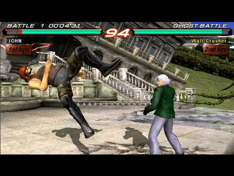 Tekken 6 Hwoawrang Vs Lee [PSP]