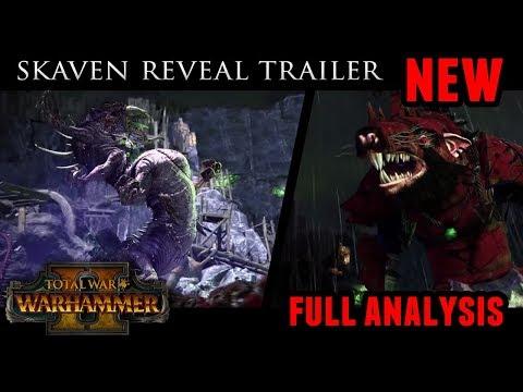 Total War: Warhammer 2 - Skaven Reveal Trailer (Full Analysis)