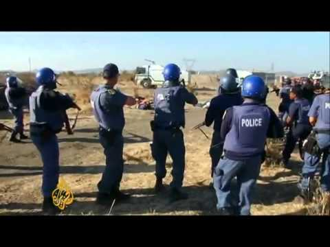 [comments enabled] Striking S.African Miners Murdered