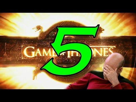 5 абсурдных моментов в Игре Престолов, которых нет в книгах!