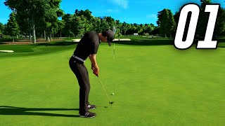 PGA Tour 2K21 Career - Part 1 - The Beginning
