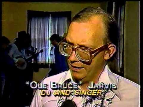 Live Bluegrass on WPUV radio, Pulaski, Virginia, 1990, as covered by WSLS, Roanoke