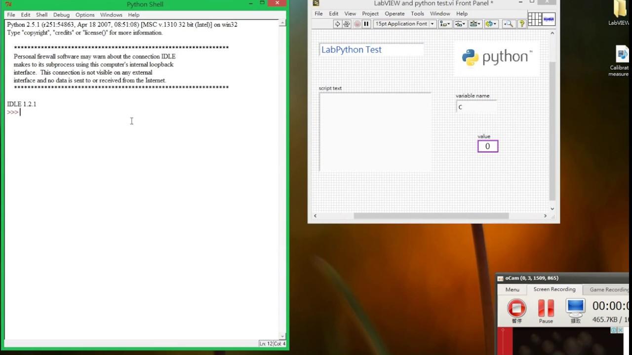 23  NI LabVIEW link Python by LabPython