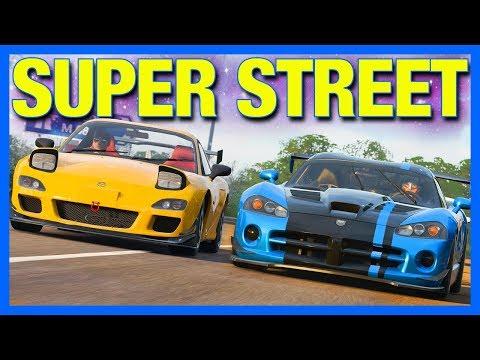 Forza Horizon 4 Online : BEST SUPER STREET RACER!! (Street King Part 2)
