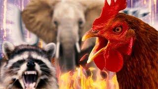 Wezasłoń, Neskurczak i Szopleven znowu w akcji! | Ultimate Chicken Horse