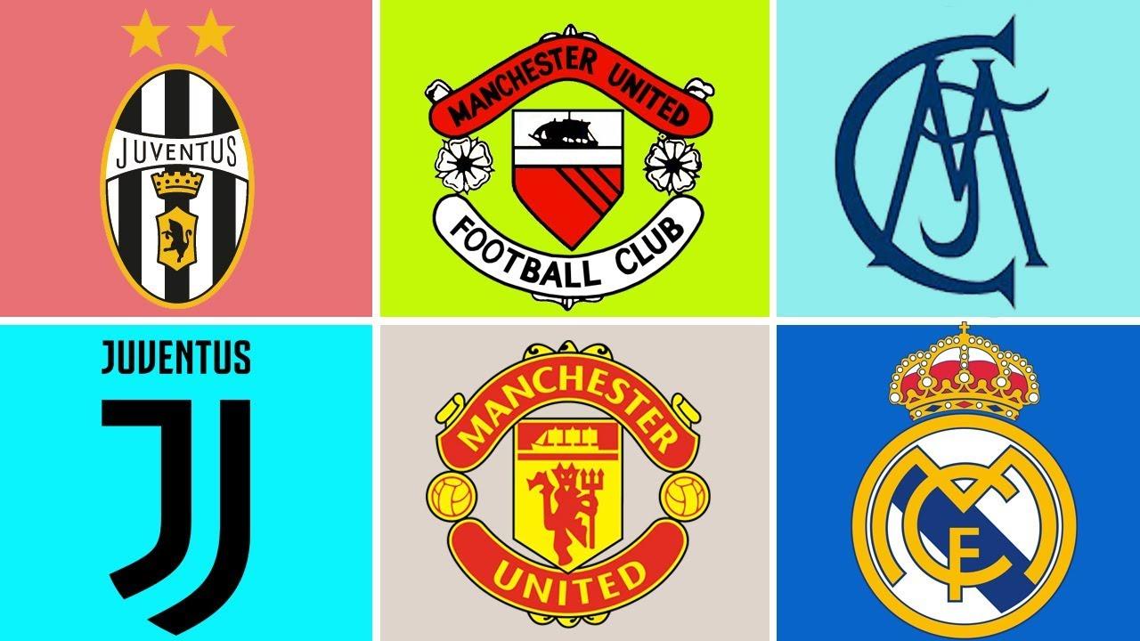 Lịch sử và quá trình phát triển logo của top 15 câu lạc bộ bóng đá nổi tiếng nhất thế giới.