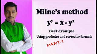 Milne's method simple and good example(PART-1)