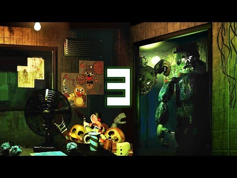 When Springtrap team up with Lockjaw! | FNAF 3 Classic Remake