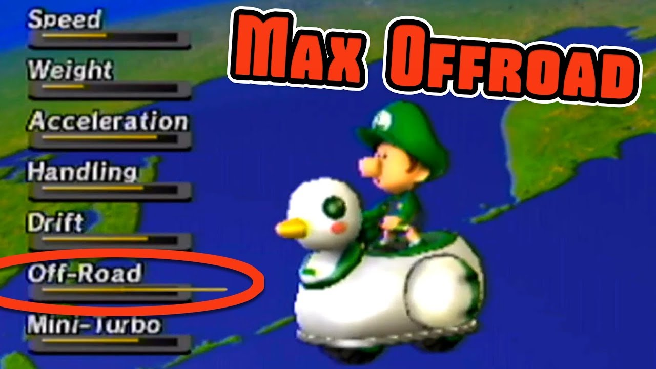 Max Off Road Vehicle In Mario Kart Wii Youtube