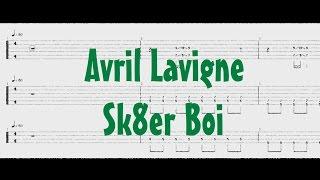 Avril Lavigne - Sk8er Boi [Guitar & Bass Tab]