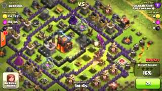 Perfect Healing Spells Use With Hog Rider Clash Of Clans