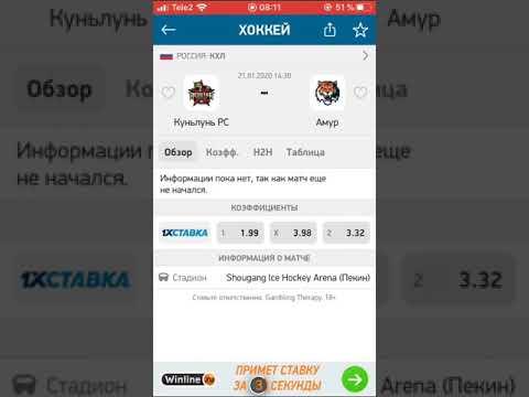 КУНЬЛУНЬ РС-АМУР/ПРОГНОЗ/СТАВКА/КХЛ/21.01.2020/