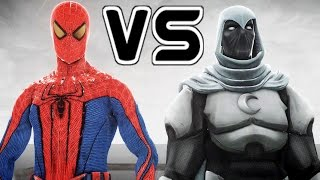 SPIDERMAN VS MOON KNIGHT - THE AMAZING SPIDER-MAN