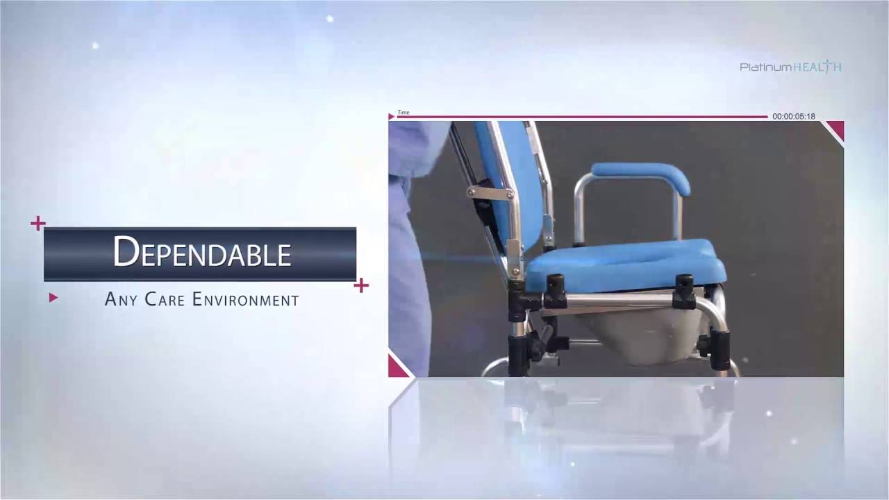 Laguna Reclining Shower Chair FN V2 - YouTube