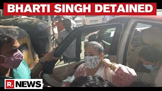 Bharti Singh Detained After NCB Raids Comedian's Residence