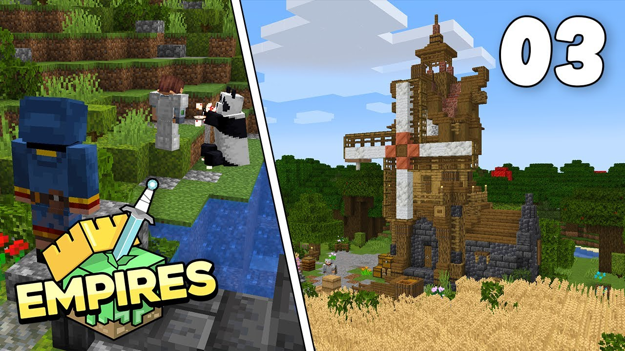 Empires SMP - Farm Expansion & Reunited!!! - Ep.3 [Minecraft 1.17 Survival Lets Play]