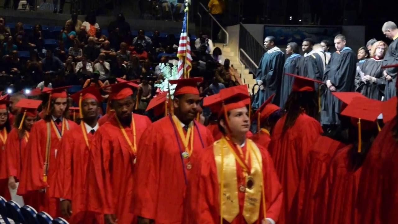 Deerfield Beach High School Graduation Procession 2016 ...