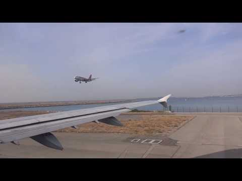 Décollage Nice à Athènes 8 août 2017- Landing Nice to Athens AIR FRANCE