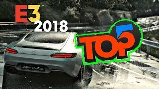 2018 E3 TOP 5 RACING GAMES