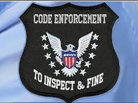How to Handle Code Enforcement Encounters in a POLICE STATE! Part 1
