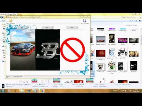 Samsung Tocco Lite Wallpaper Creator