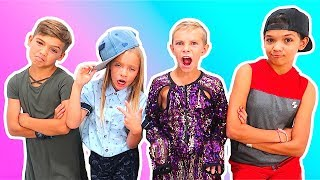 Boys vs Girls CLOTHES SWAP Challenge with The Ohana Adventure!