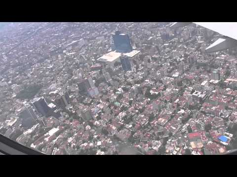Flying over mexico city a  city of 20 million inhabitants video Arif Herekar