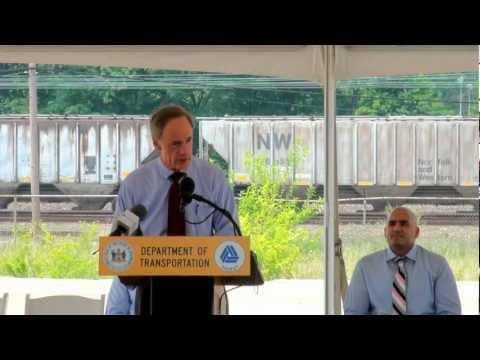 Tiger IV Grant Award Ceremony Newark Regional Transportation Center Station Improvement Project