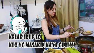 HOT LIVE COOKING!!! ft. AVB ANDREA BIGO LIVE INDONESIA
