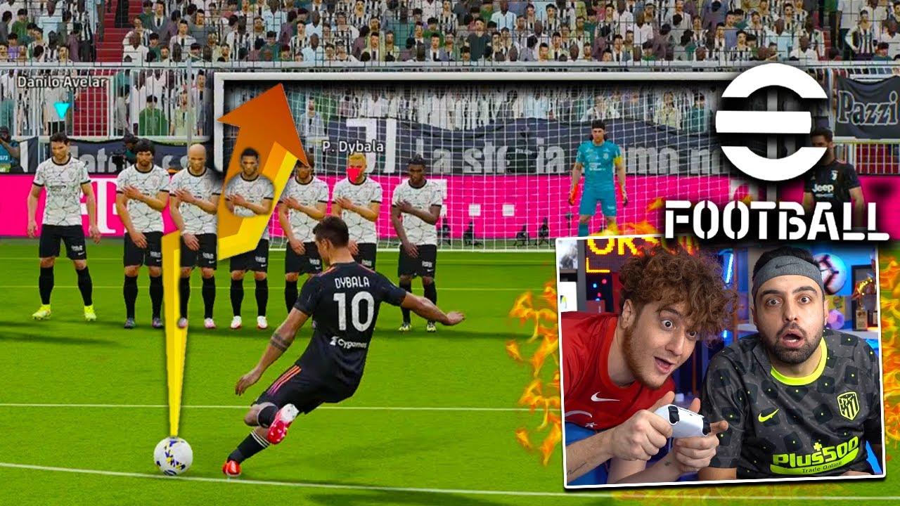 eFootball PES 2022 İLK FRİKİK GOLÜNÜ BEN ATTIM ! 31:d METRE ! ÜMİDİ VS EMJAN