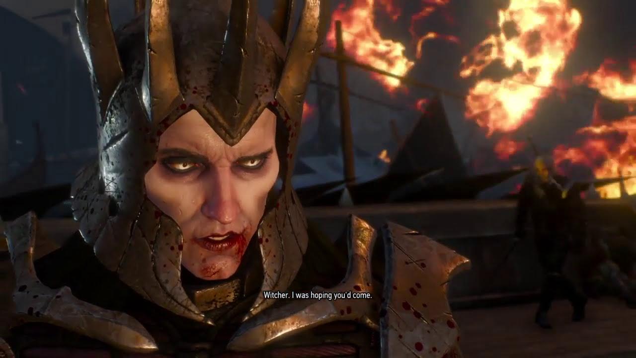 The Witcher 3 Wild Hunt Geralt Vs Eredin Boss Fight