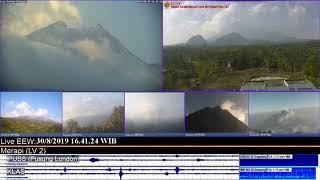 30/8/2019 - Mt Merapi TimeLapse