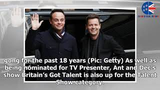 Ant McPartlin winning National Television Award would be 'utterly ridiculous,' says rival
