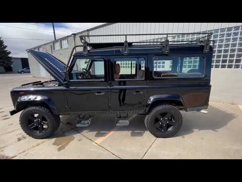 LS3 Land Rover Defender 110 walk around