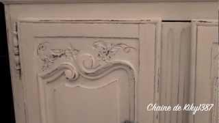 Patine sur meuble ancien // Tutoriel