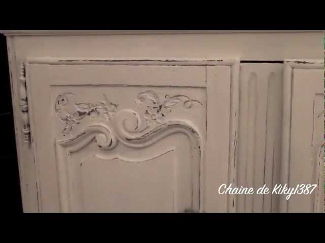 Patine Sur Meuble Ancien Tutoriel Youtube