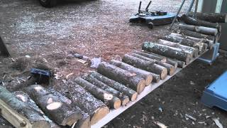 A Different Style Of Firewood Rack
