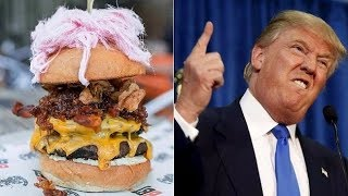 6 Weird Eating Habits Of Donald Trump