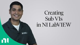 Creating Sub VIs in NI LabVIEW