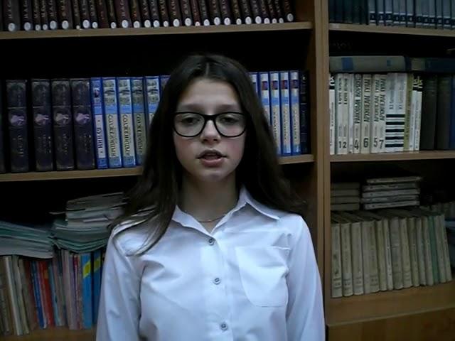 Изображение предпросмотра прочтения – АннаЧудецкая читает произведение «Берёза» С.А.Есенина