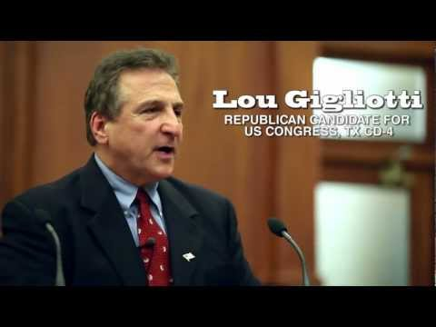 Texas Congressional candidate Lou Gigliotti | Republican for US Congress