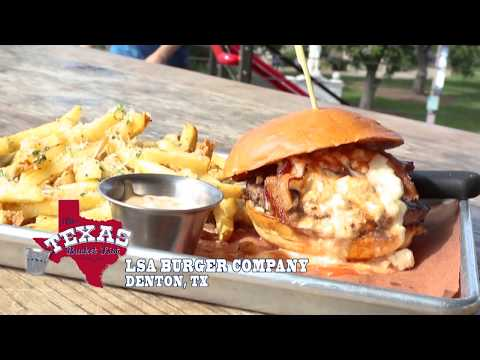The Texas Bucket List - LSA Burger Company in Denton