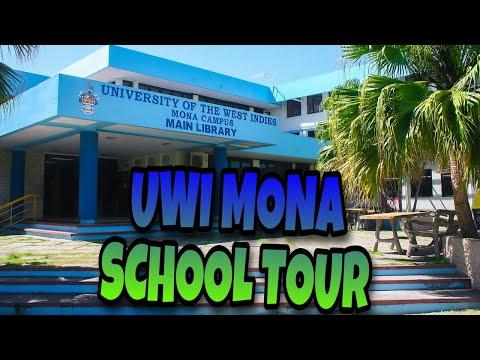 UWI MONA SCHOOL TOUR???????????????????????????? TAKING MY SON BACK TO SCHOOL..