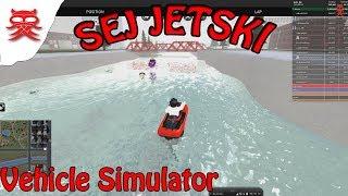 Sej jetski-simulador de veículos-Dansk Roblox