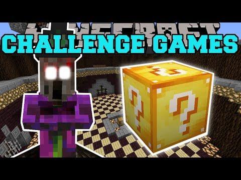 Minecraft: WITCH SPIDER CHALLENGE GAMES - Lucky Block Mod - Modded Mini-Game